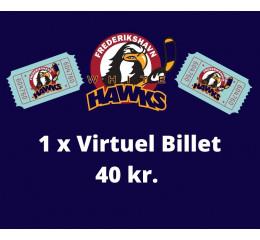 1 x Virtuel Billet