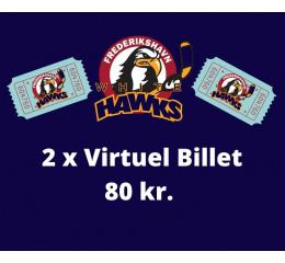 2 x Virtuel Billet