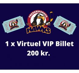 1 x Virtuel VIP Billetpakke